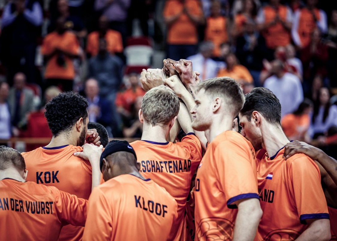 Dutch Basketball Federation campaign