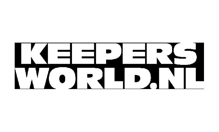 Keepersworld logo wit